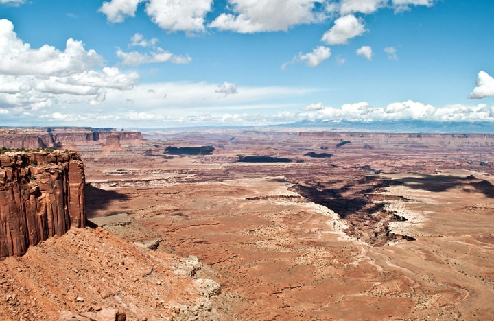White Rim Overlook, Canyonlands National Park, Utah, USA