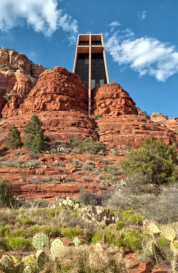 The Chapel of the Holy Cross in Sedona, Arizona USA – On the Luce travel blog