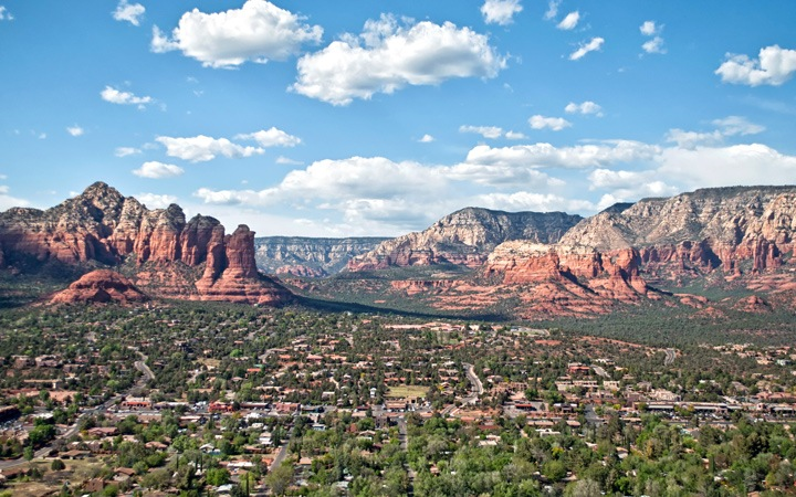 Sunsets and spirituality in Sedona