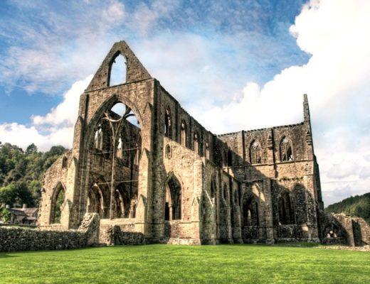 Tintern Abbey on the River Wye
