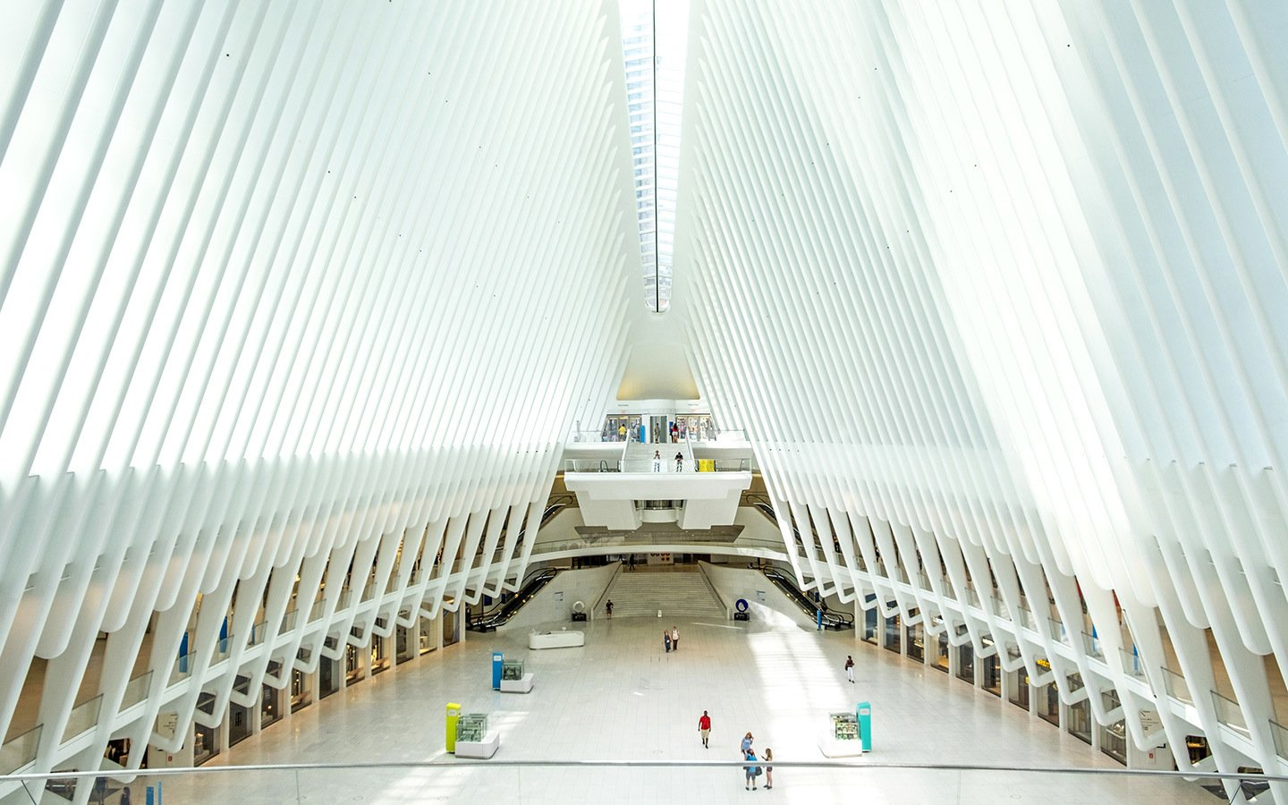 The Oculus at the World Trade Center, New York