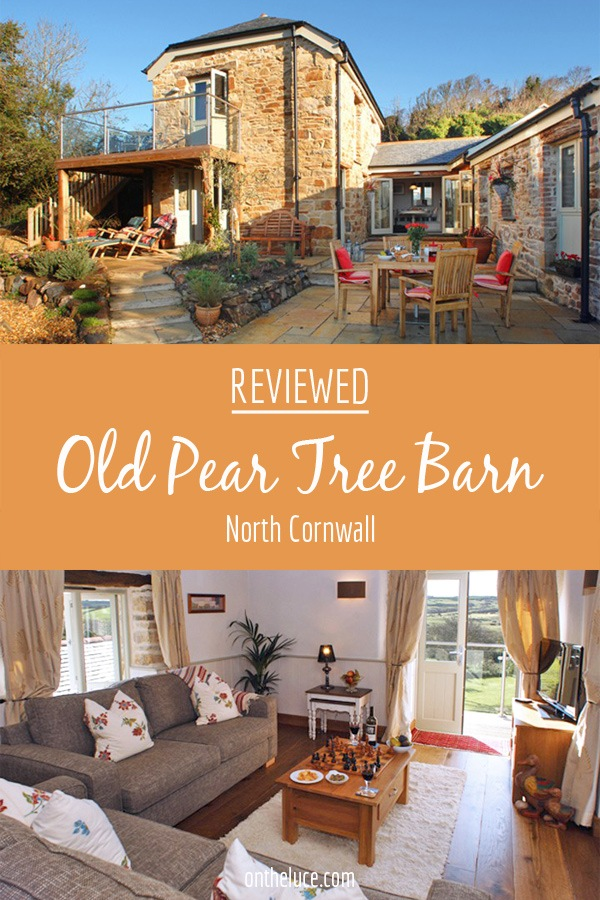 Old Pear Tree Barn (Forelle) in North Cornwall, reviewed – On the Luce travel blog