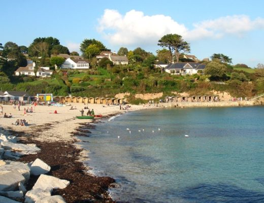 Swanpool beach, Cornwall
