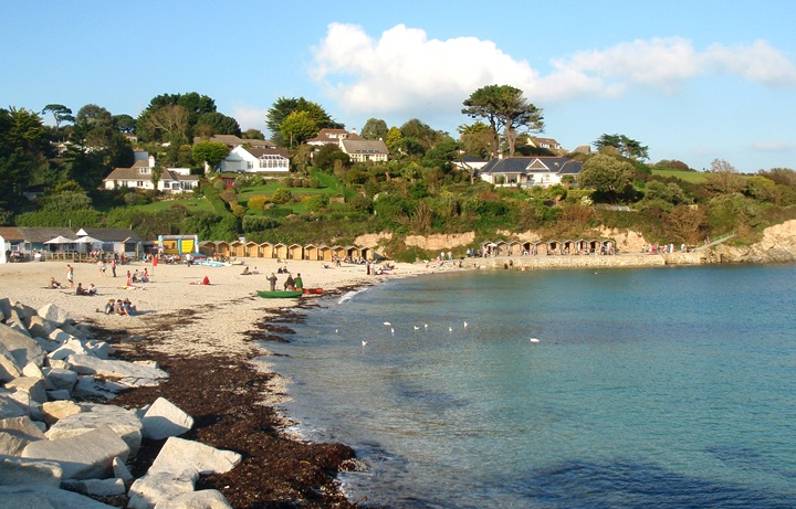Swanpool beach, Cornwall