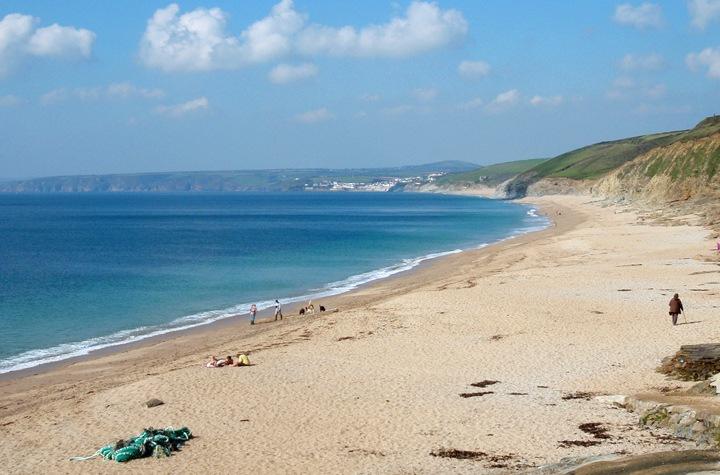 Fishing Cove beach in Cornwall
