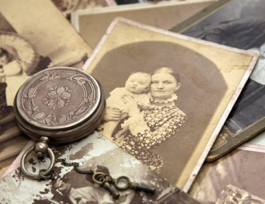Victorian photos and locket