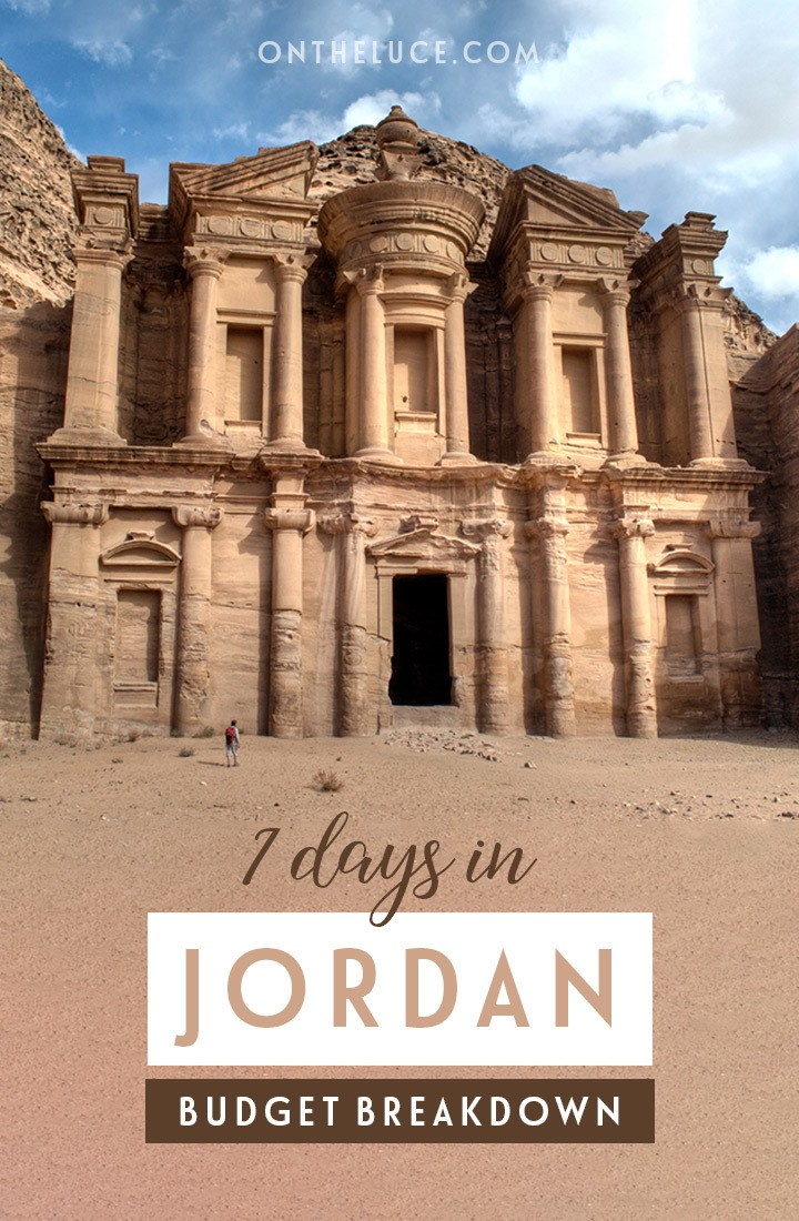 Trip budget breakdown for a week in Jordan – how much does it cost to visit Petra, the Dead Sea and Amman, including transport, accommodation, activities, food #Jordan #Petra #budget