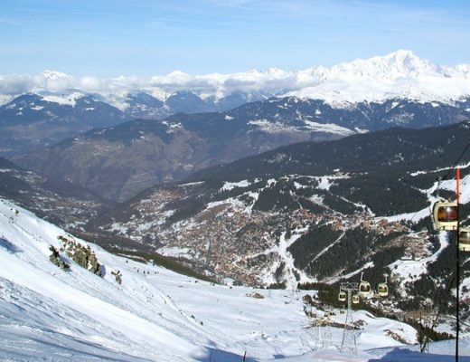 Meribel-Mottaret in the French Alps