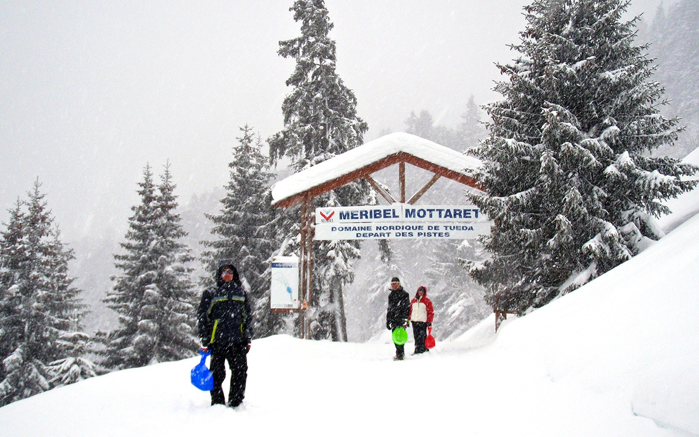 The Plan de la Tuéda nature reserve in Meribel-Mottaret