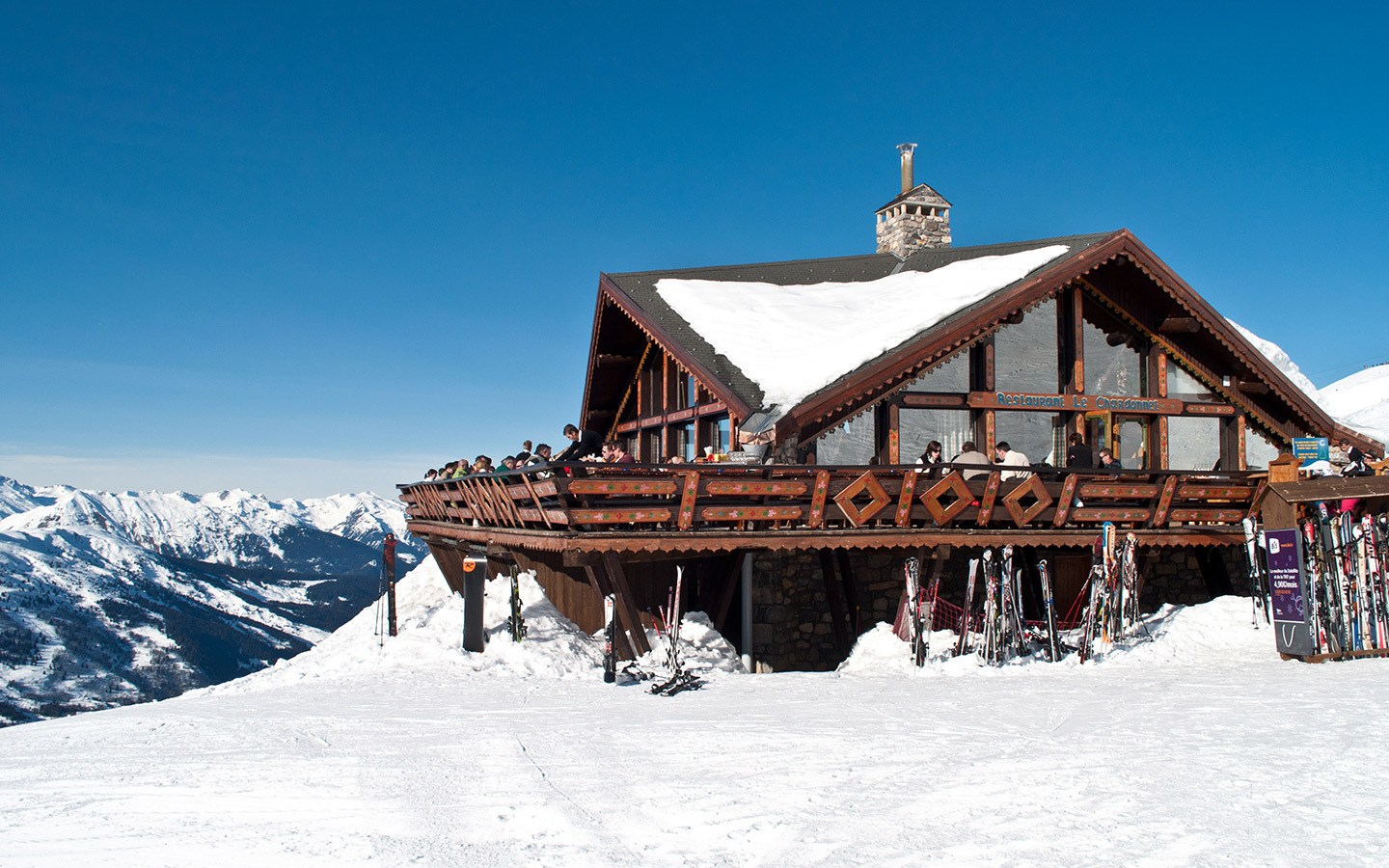 Restaurant on the piste