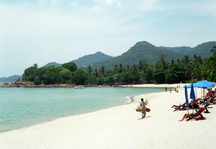 Beach in Ko Samui in Thailand