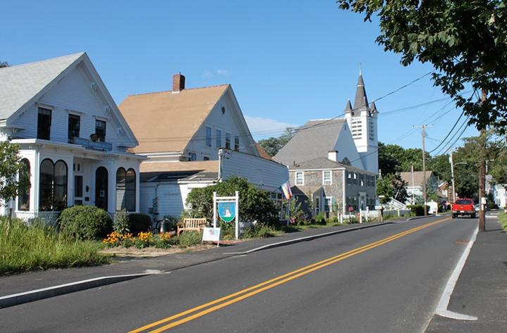 Wellfleet in Cape Cod, Massachusetts, USA