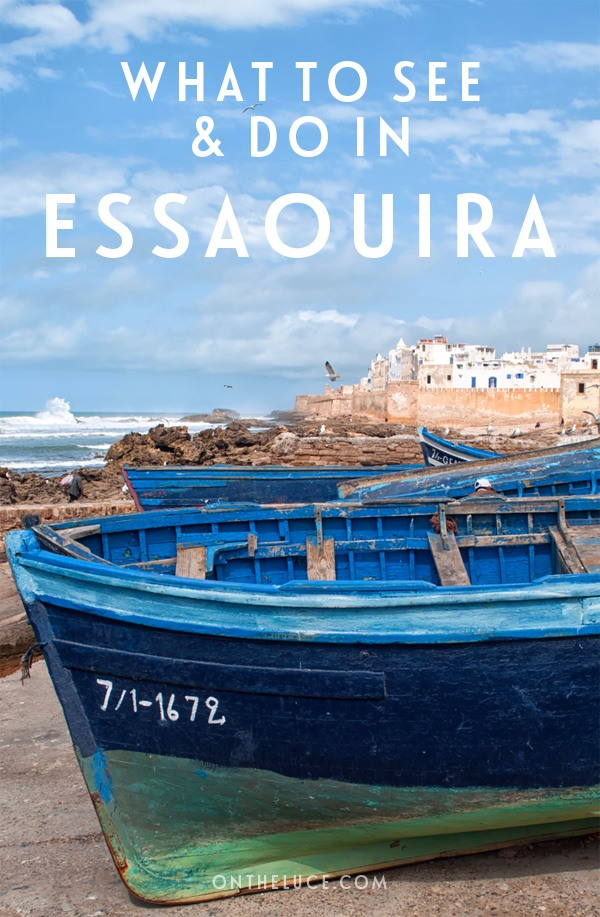 What to see and do in the Moroccan coastal city of Essaouira – from cookery classes and Gnawa music to kitesurfing and watching sunset from the city walls #Essaouira #Morocco
