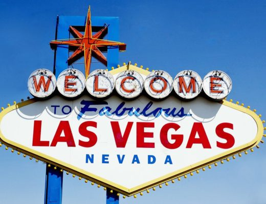 The Welcome to Las Vegas sign, Nevada USA