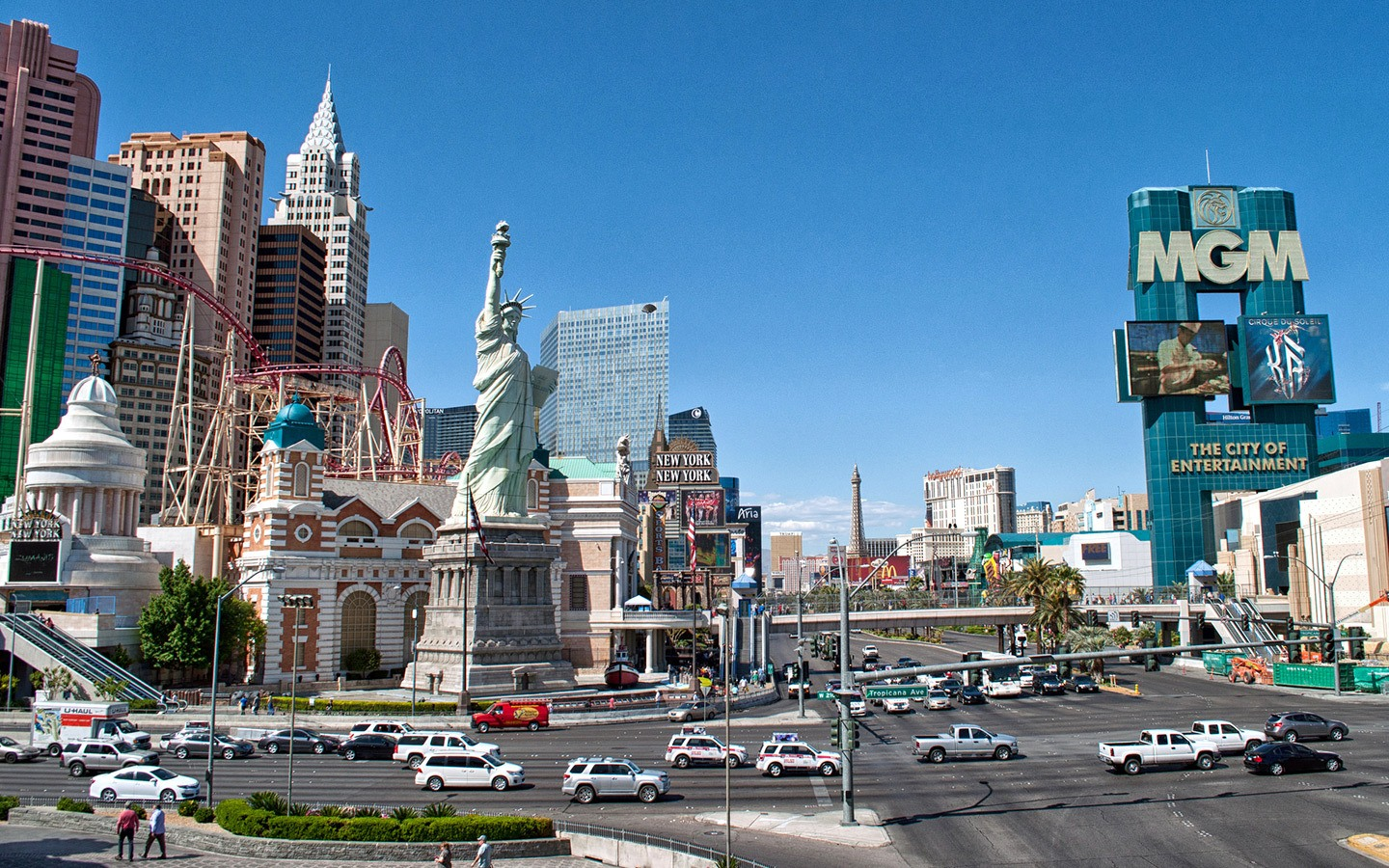 Where to stay on the Las Vegas Strip – whatever your budget