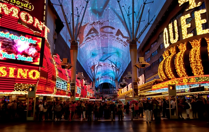 Neon signs in Old Las Vegas, Fremont Street
