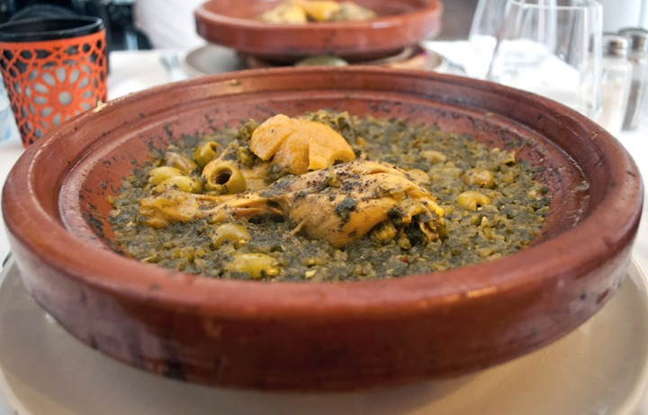 Chicken tagine, L'Atelier Madada cookery school, Essaouira, Morocco