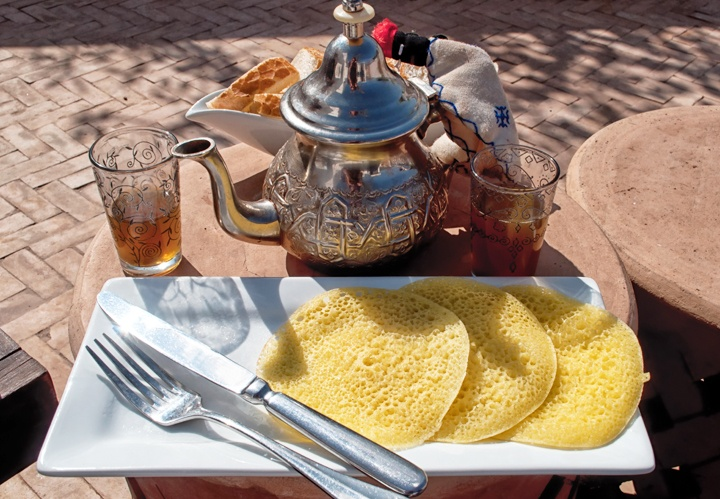 Breakfast at Riad Capaldi, Marrakech