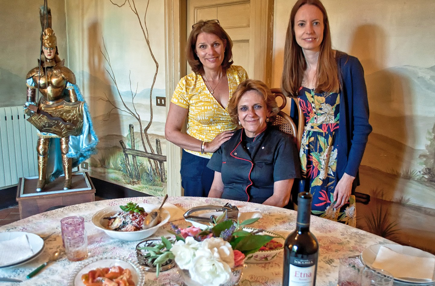 Sicilian cooking class with Monica Consoli, Catania