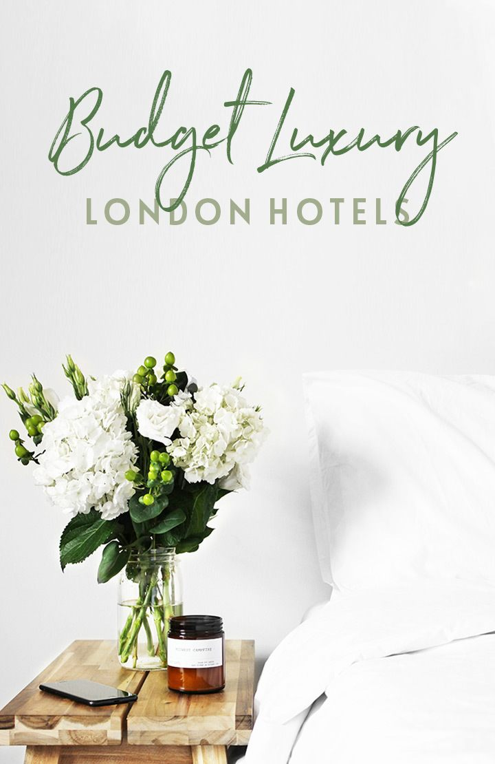 Where to stay in London – the best budget luxury hotels in London with stylish rooms, central locations and luxurious touches without a huge price tag. #London #hotel #Londonhotel #budgettravel #wheretostay