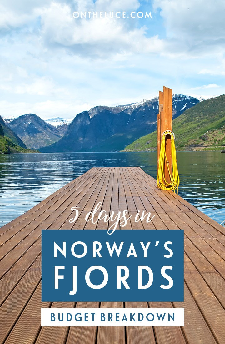 A trip budget breakdown for visiting Norway – what does it cost for a 5-day trip including Bergen, Flam and the fjords #Norway #fjords #Flam #Bergen