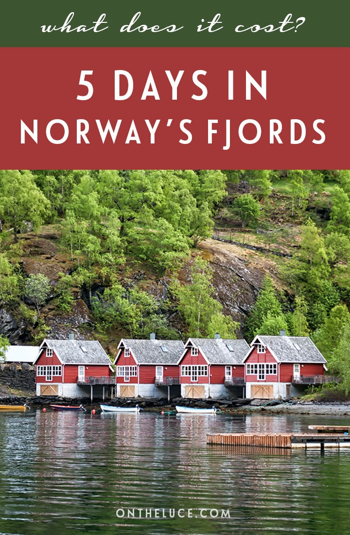 How much does it cost to visit the Norwegian fjords? Trip budget details for 5 days in Bergen and Flam, including transport, accommodation, activities and food #Norway #fjords #Flam #Bergen