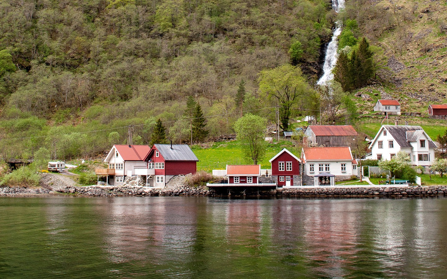 A Norwegian fjord boat trip from Flåm