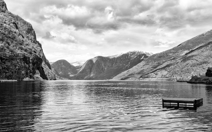 The Sognefjord as seen from Flam