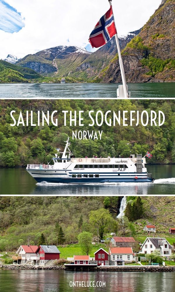 A boat trip through Norway's longest fjord – the Sognefjord – from Flåm to Gudvangen, past waterside villages, stave churches, mountains and waterfalls – ontheluce.com