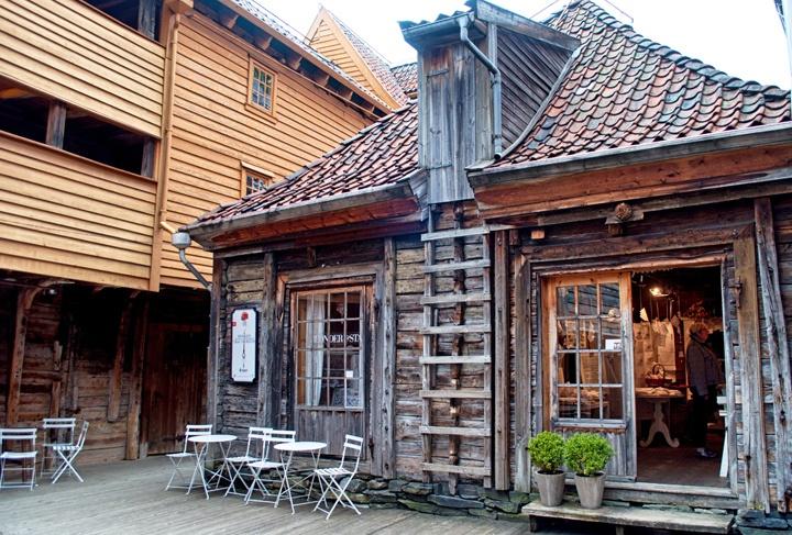 Shop in Bryggen, Bergen Norway