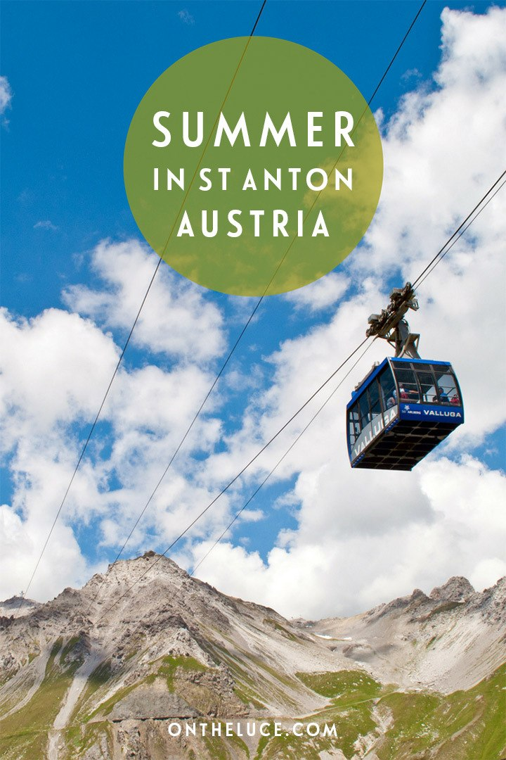 St Anton am Arlberg in Austria is one of Europe's top ski resorts – but what happens when the snow melts? Summer hiking and biking in St Anton.