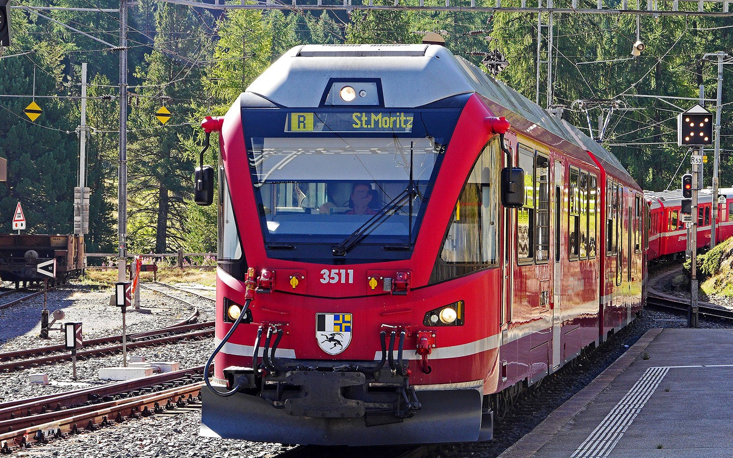 Bernina Express trains