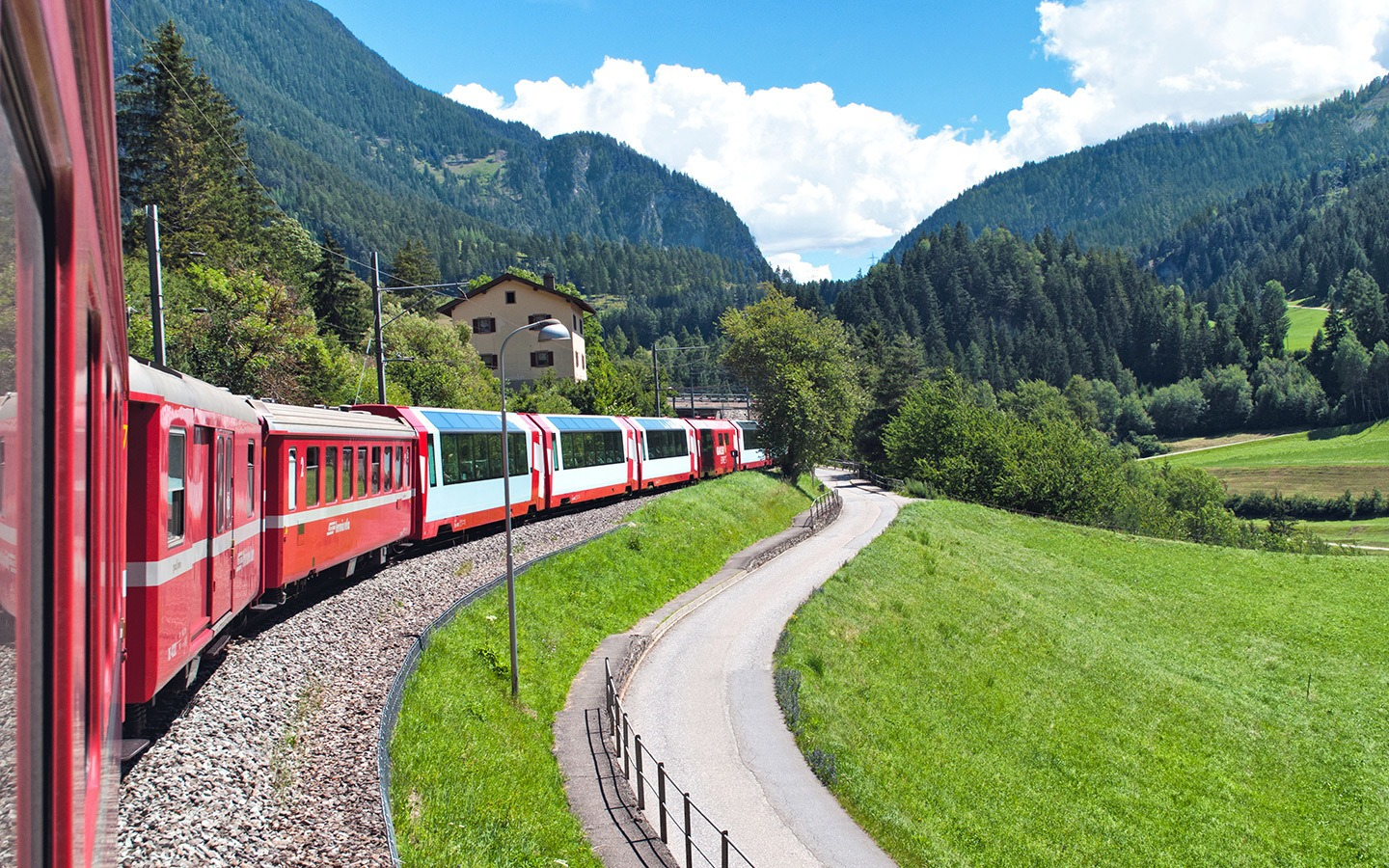 The Bernina and Glacier Express Swiss scenic trains – and the DIY alternatives