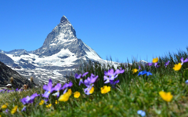 Spring in Zermatt, Switzerland