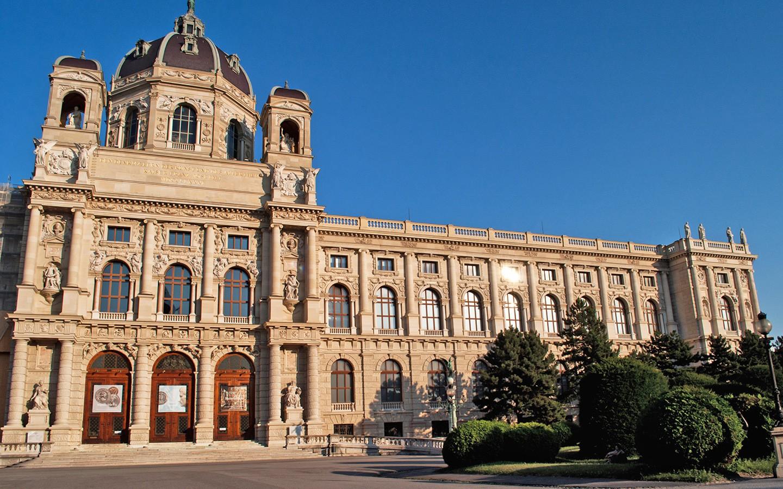 The Kunsthistorisches Fine Arts Museum in Vienna