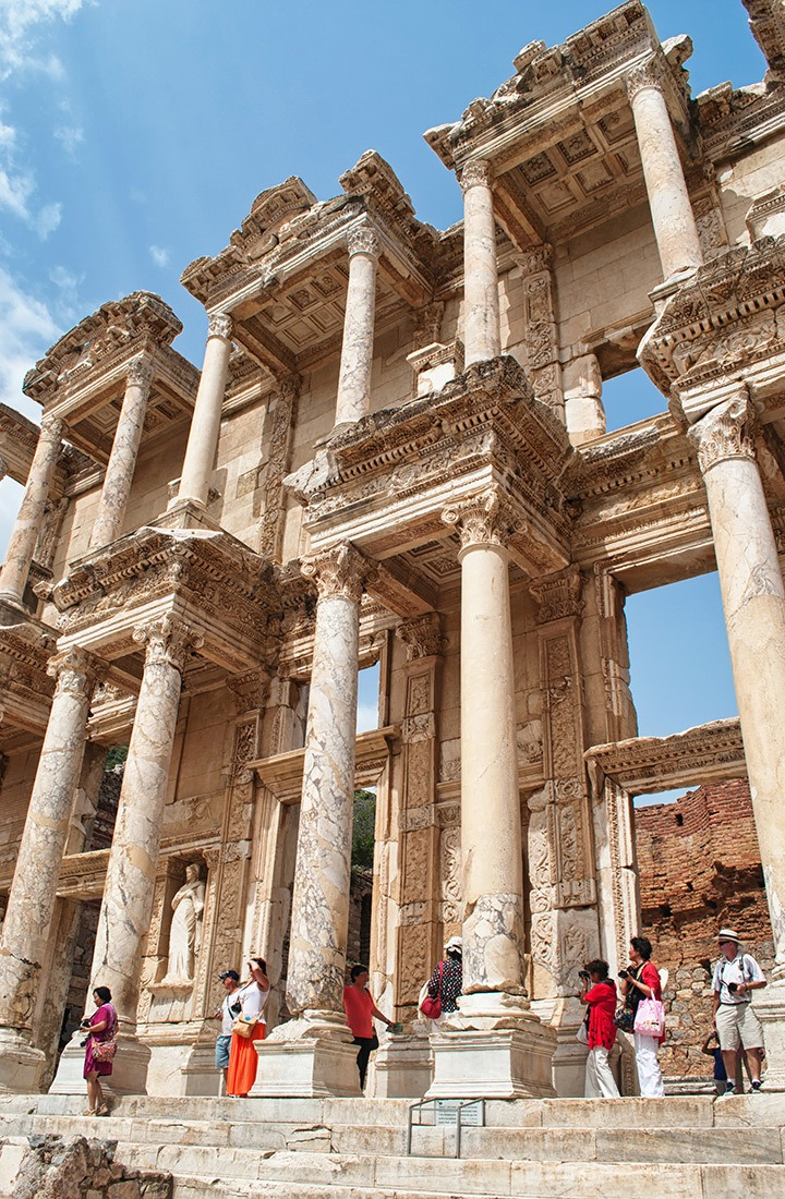 Amongst the ruins at Ephesus in Turkey – a photographic tour of some of the Mediterranean's best-preserved and grandest ruins.