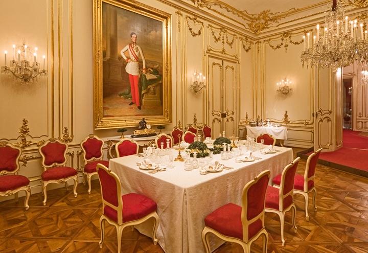 The Marie Antoinette room, Schönbrunn Palace, Vienna