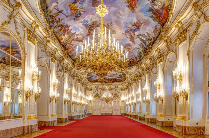The Great Gallery, Schönbrunn Palace, Vienna