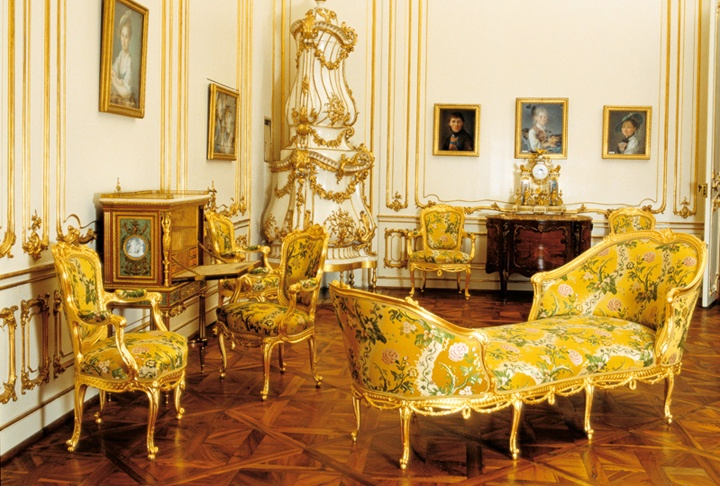 The Yellow Salon, Schönbrunn Palace, Vienna