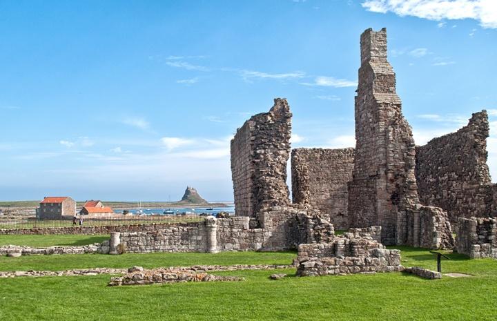 Lindisfarne Priory on Holy Island