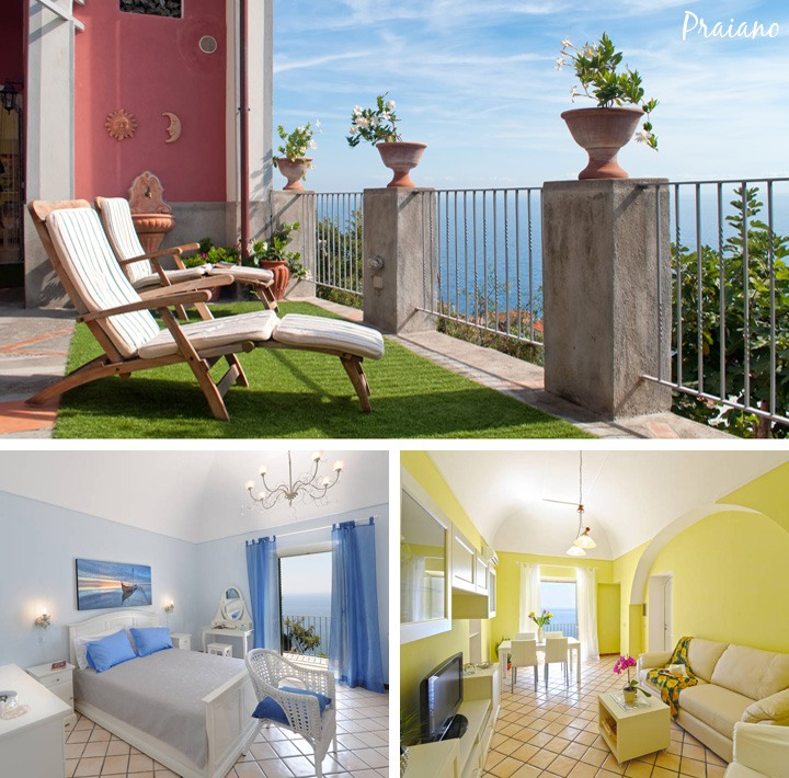 AirBnB Praiano apartment on the Amalfo Coast