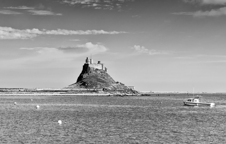 Views of Lindisfarne Castle, Holy Island
