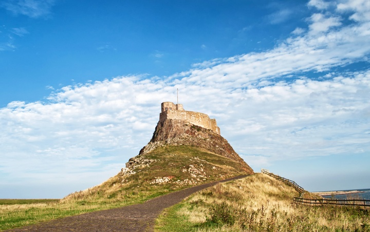 Lindisfarne Castle on Holy Island