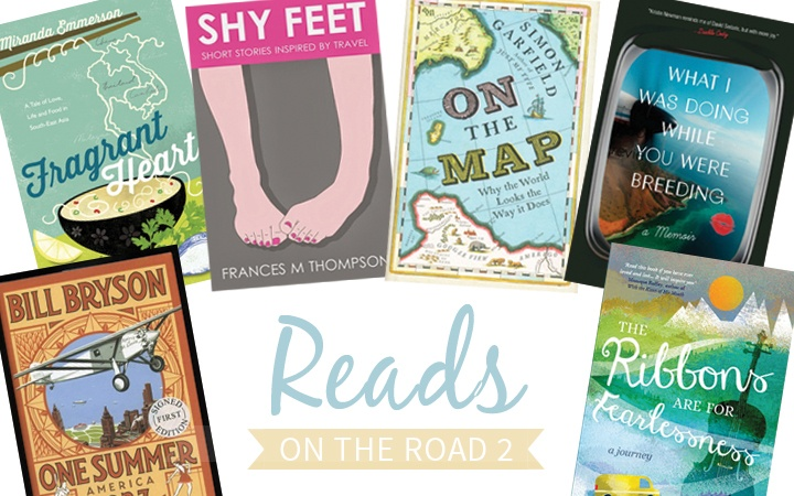 Reads on the Road 2 travel book recommendations