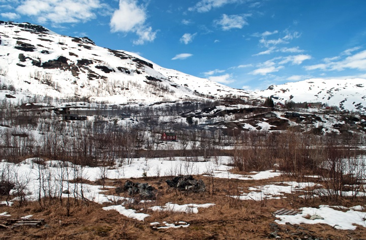 Scenery near Myrdal, Norway