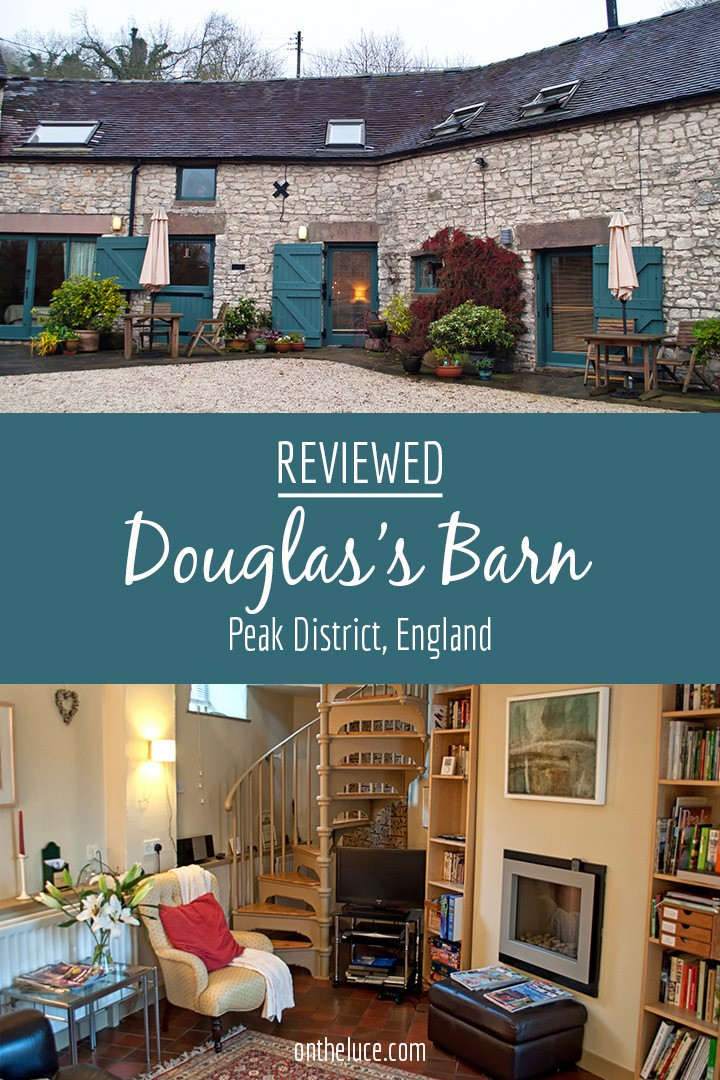 A romantic Peak District bolthole in the Derbyshire village of Parwich, Douglas's Barn holiday cottage makes a perfect cosy autumn escape.