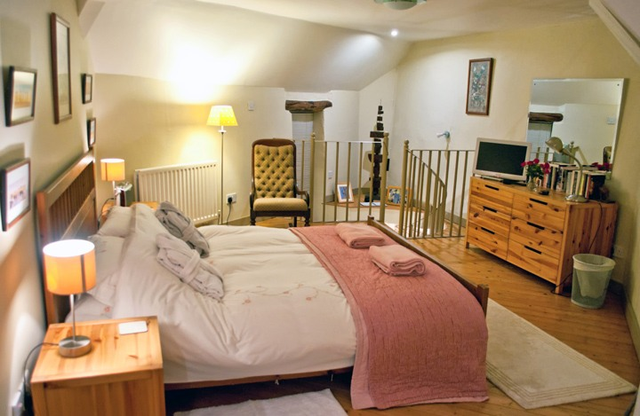Bedroom at Douglas's Barn in the Peak District