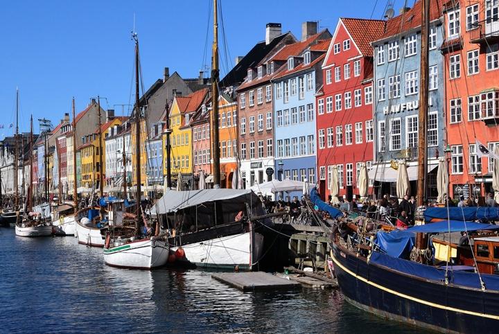 Copenhagen's Nyhavn waterfront district – photo credit Jørgen Falck on Flickr