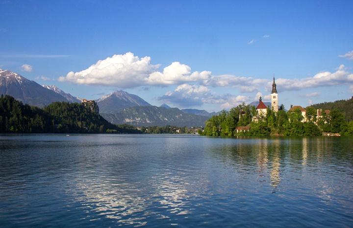 Lake Bled in Slovenia – photo credit Eneko Bidegain on Flickr