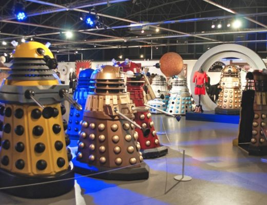 The Daleks at the Doctor Who Experience